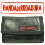 【バンダ・デ・ロダドゥーラ/banda DE rodadura】廃タイヤチューブの三つ折り財布 LARGE (ウォレット 紳士 財布 リサイクル メンズ 男性用 円高還元)