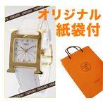 エルメス(Hウォッチ)時計 HERMES ラムサス レザーベルト レディース ホワイト文字盤×ホワイトベルト HH1.201.130/UBC