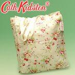 キャスキッドソン バッグ エコバッグ CATH KIDSTON 227155 SUMMER NATURAL (小花/小枝柄)