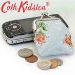 キャスキッドソン 財布 がま口財布 CATH KIDSTON コインケース 230674 ROSE SPRING BLUE