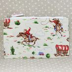 キャスキッドソン Cath Kidston ポーチ Zip Purse Mini Cowboy Nat Wht (173292)//ZipPurse-MiniCow-NW