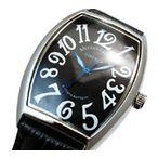 プレゼントに最適!【ALESSANDRA OLLA】アレサンドラオーラ メンズ腕時計(ブラック文字盤)AO-4550