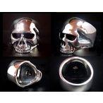 【スカルGシルバーリング】 Keith Skull Ring キースリング
