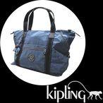 [kipling] キプリング  ショルダー トートバッグ ART M K 1362[ブルージーン]