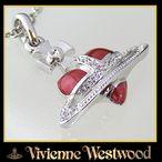 【Vivienne Westwood】ネックレス ヴィヴィアンウエストウッド ENAMEL HEARTディアマンテ エナメルハート ペンダント/ネックレス1210SV 2007年新作 !!