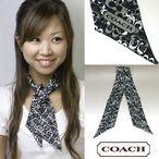 【即日発送可能】 コーチ/COACH シグネチャー スカーフ アウトレット 98468