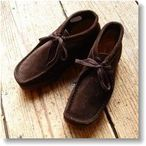 【40%OFF SALE】*レディース*[Clarks:クラークス]WALLABEE:ワラビー(BROWN SUEDE/ブラウンスエード)【08