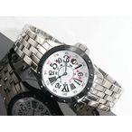 キースバリー KEITH VALLER 腕時計 ジャンピングアワー 自動巻きAC01M-WH メンズ用 腕時計