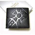 ビビアン財布 Vivienne Westwood 二つ折財布(MEDICINE/NERO・ブラック)  730VX