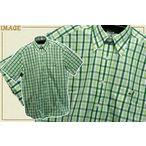 LACOSTE ラコステ☆チェックシャツ MEN'S【CH4058-51 チェック-グリーン】
