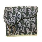 クリスチャン・ディオール財布 ロゴグラム2つ折財布 サドル型SLO43025bks